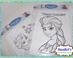 Kit Colorir 1 - Frozen