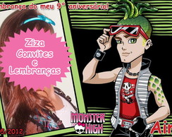 Foto Lembrança Monster High