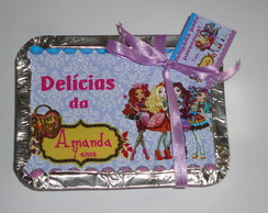 Tampa para marmitinha Ever After High