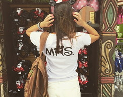Camisetas Mr e Mrs Personalizadas