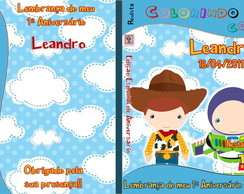 Revista personalizada - Toy Story