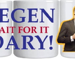 Caneca - Legen Wait for it Dary! HIMYM