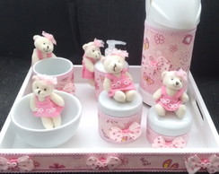 Kit de Higiene do Bebê Porcelana