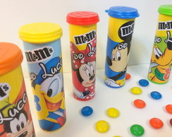 Chocolate M&M Turma Disney