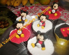 Cupcake Decorado Mickey.