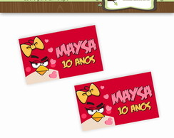 Lacre para Envelope Angry Birds