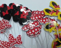 toppers da minnie vermelha
