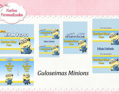 Kit embalagens Minions