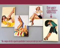 Kit quadros pin-ups 'Interurbano'