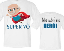 KIT CAMISETAS - AVÔ