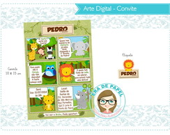Arte Digital Convite Digital