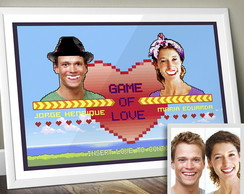 Poster Personalizável Game of Love