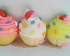 chaveiros Cup cakes