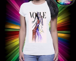 Camiseta Vogue Princesa Mulan