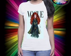 Camiseta Vogue Princesa Mérida