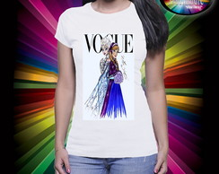 Camiseta Vogue Frozen
