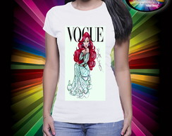 Camiseta Vogue Princesa Ariel