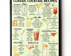 Quadro Classic Cocktail Recipes