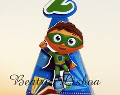 Super Why - Cone Personalizado