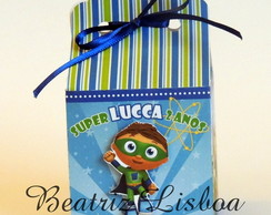 Super Why - Caixa Personagem