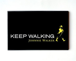 Quadro Johnnie Walker Keep Walking