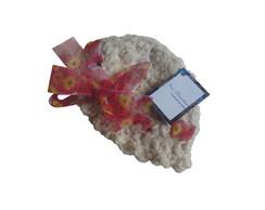 56829d52b05d9 ... Chapéu de crochê em lã - recém-nascido