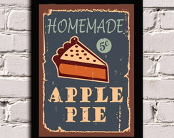 Poster com Moldura Apple Pie!