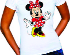 Camiseta da Minnie e do Mickey