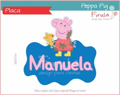 Placa Digital Peppa Pig