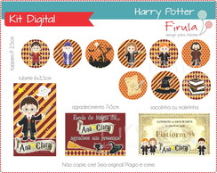 Kit Festa Digital Harry Potter
