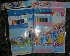 Kit colorir das princesas