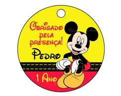Arte Digital Tag Mickey Mouse