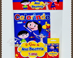 Kit de colorir O Show da Luna