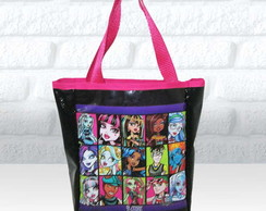 Bolsa sacola tema Monster High