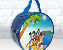 Bolsa Redonda tema Turma do Mickey