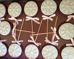 Biscoito decorado Frozen!!