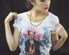 T-shirt Frida Kahlo Vogue