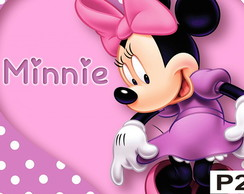 Painel minnie mouse rosa