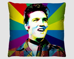 ALMOFADA POP ART - ELVIS