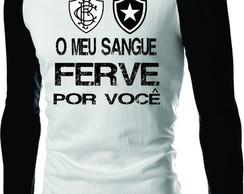 ... Camiseta Botafogo Raglan Manga Longa Fog a40eb239c8091