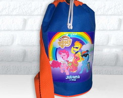 Mochila Esportiva tema My Little Pony