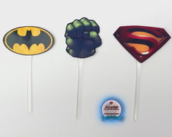 Toppers logo Herois ( 15 Unidades )