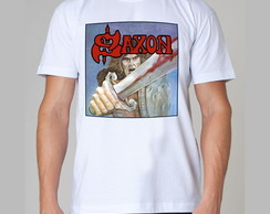 Camiseta Rock - Saxon