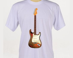 Camiseta Rock - Guitarra Fender