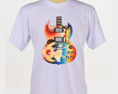 Camiseta Rock - Guitarra Gibson - Cream