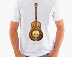 Camiseta Rock - Guitarra - Blues