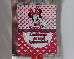 Saquinho Zip Minnie!