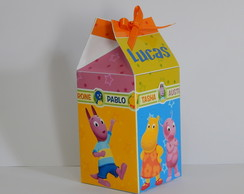 Caixa Milk Backyardigans