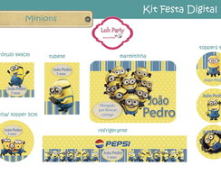 Kit Festa Digital Minions