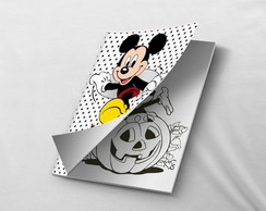 Mini Revistinha para colorir Mickey